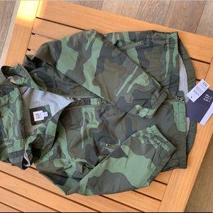 Camouflage GAP Boys Jacket Sz SM